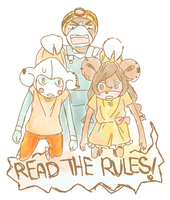 PKMNC - Read the rules (speed sketch) by cherifish