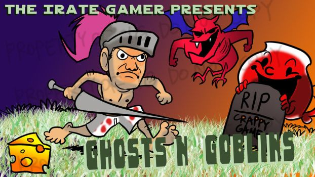 Irate Gamer - Ghosts n Goblins by AndrewDickman