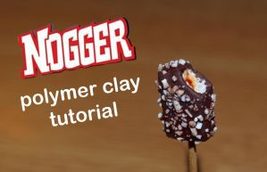Polymer clay Nogger VIDEO TUTORIAL by trollwaffle