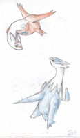 Latias and Latios by Eeveetales