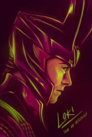 Thor - The God of Mischief by Kumagorochan