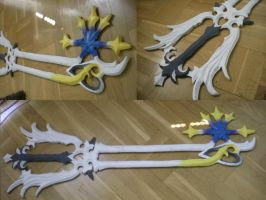 Oathkeeper Keyblade by MysteriousHat