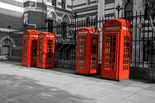 Phone Boxes by adrianmusto