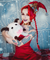 Christmas Jinx Original costume by Helen-Stifler