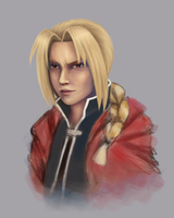 Edward Elric WIP4 by mademanmadman