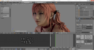 :: SERAH HD XPS MODEL W.I.P. :: by VincentXyooj