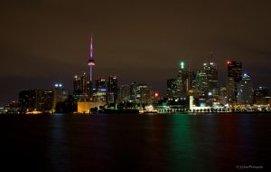 Toronto Skyline 0907 by GreyVolk