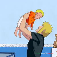 Dad Time! ~ Naruto Shippuden by TheMuseumOfJeanette