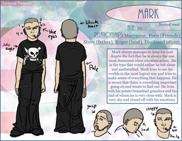 Character Sheet: Mark, Normal by zammap