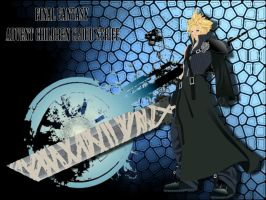 Cloud Strife Vector by Gimpy10145