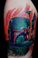 Boba Fett by tattoos-by-zip