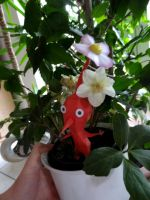 PAPERCRAFT Red Pikmin (Steve :3) by 18lala111