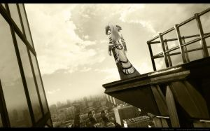 Rooftop by scorpioevil