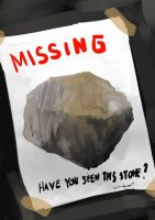 Daily Spitpaint: The Missing Stone by oshirockingham