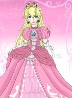 Princess Peach by Shinkuni