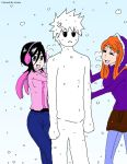 Ichigo snowman colored by Pamianime
