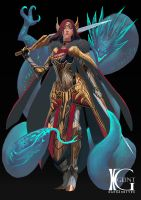 Alza Tyrell by Kevin-Glint