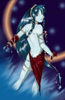 Elf in the Night by yapi