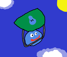Slime on a Glider by DragonQuestWes