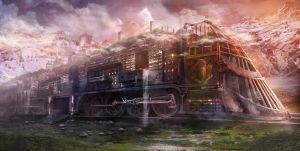 Rail City by jordangrimmer