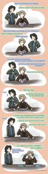 How to deal with feels: The Winchester Way. by Star-Jem