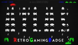 RGB RetroGamingBadge by GovectorZ