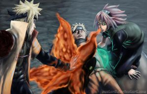 Naruto dying?!? by Sentork