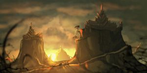 Temple of Truth Speedpainting by ARCallejas