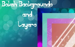 Bokeh Package ||Background+Layers|| by AIVstock