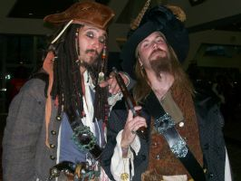 Captain Jack and Barbossa by Jasong72483