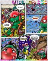 TMNT Tots Comic Hatchlings SP1 by alaer
