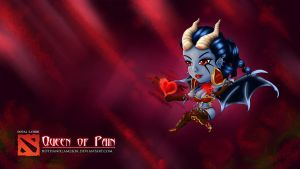 CHIBI DOTA 2 - Queen of Pain by hothanhlamleok