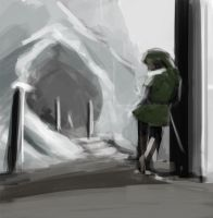 Zelda Speed Sketch 02 by AnthonyPismarov