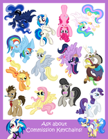 Keychain Sales Sheet 2 by BuckingAwesomeArt
