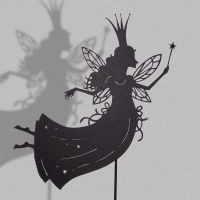 Good Fairy - Shadow Puppet by PaperTales