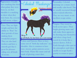 Celestial Mustang Breed page by shilohmustang
