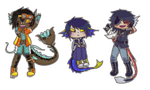 Chibi commissions batch 1 by Naddillu