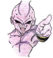 Kid Buu by ExclusivePikz