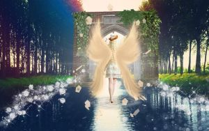 Archway to Heaven by Crazy-Weird-And-Me