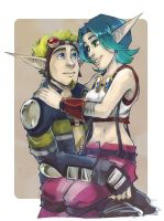 Trade - Jak and Keira by Sardiini