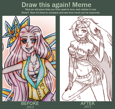 Before and After Meme by Timefang143