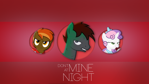 Don't Mine at Night - Wallpaper 1920x1080 by Nakan0i