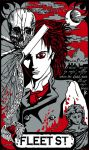 Sweeney Todd Vengeance Print by wraithwitch