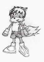 My Sonic Type Character-Fixed by Dias-Jean