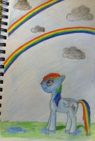Double Rainbow. by NotSoCuteAndFuzzy