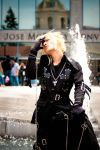 Cloud Strife in Visual Kei 2 by ValeKress