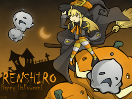 Happy Halloween Renshiro by Twilight-End