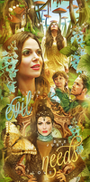Regina and Robin Hood OUAT by by-Oblomskaya