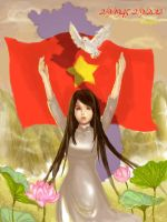 Vietnam Independence Day 2/9 by sachiko-yu