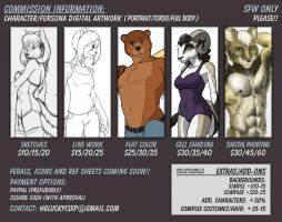 Character Commission Info Summer 2014 by hglucky13
